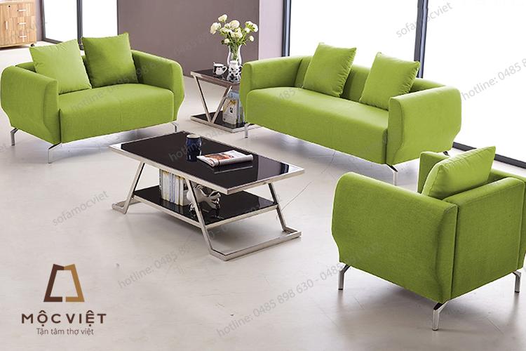 Mẫu sofa văn phòng nỉ giá rẻ MVSVP-018 đẹp và hiện đại cho văn phòng