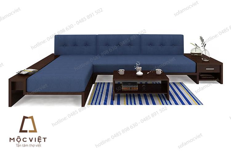 Ghế sofa gỗ hiện đại cao cấp MVSG-007