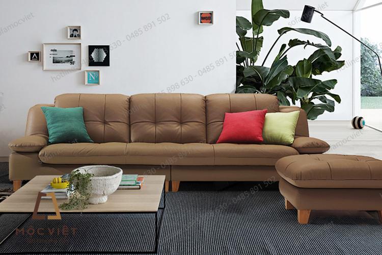 Mẫu bàn ghế sofa văng phòng khách đẹp năm 2017