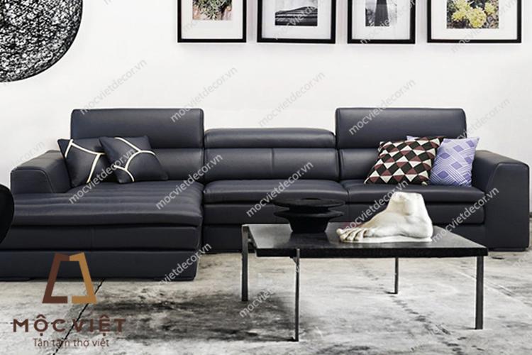 Ghế sofa da cao cấp hiện đại MVSD-005