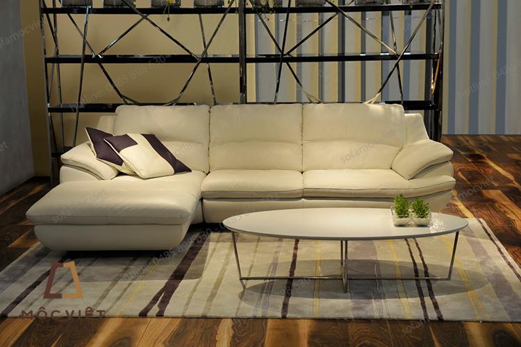 Địa chỉ bán ghế sofa da thật tại hà nội