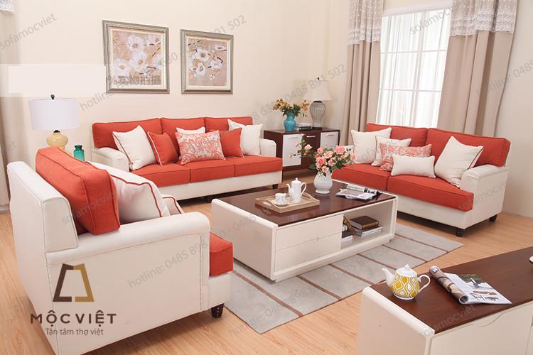 Uư và nhược điểm của sofa nỉ phòng khách