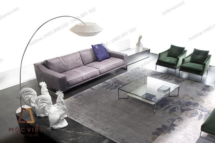 Bàn ghế sofa văng đẹp hiện đại tại Hà Nội