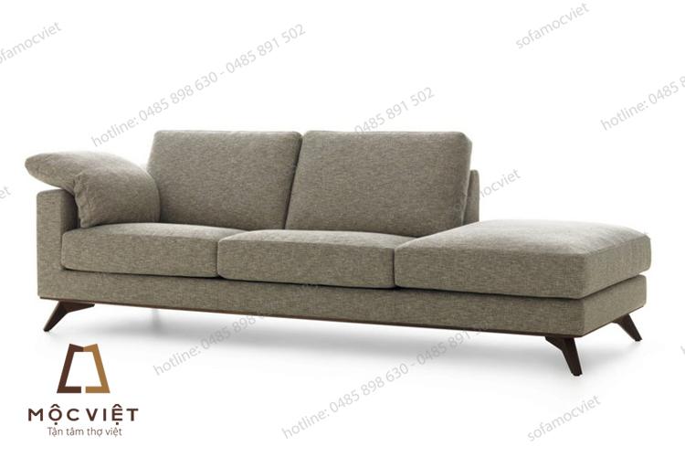 Tư vấn chọn ghế sofa nỉ cho phòng khách hiện đại