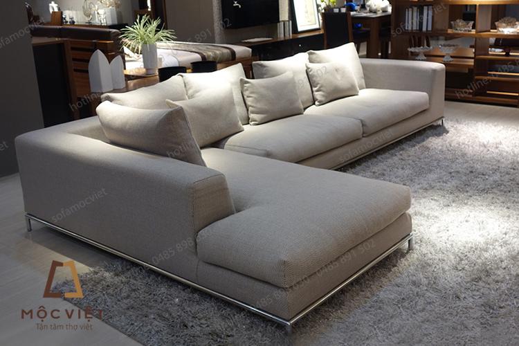 Xưởng đóng ghế sofa nỉ phòng khách tại Hà Nội
