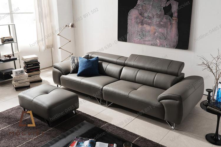 Ghế sofa văng cho phòng khách chung cư cao cấp