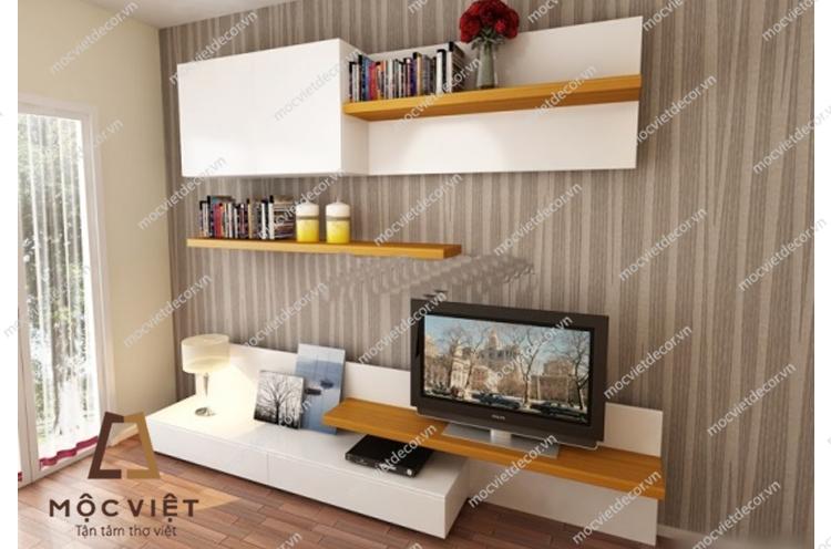 Kệ tivi phòng khách chung cư đẹp KTV-031