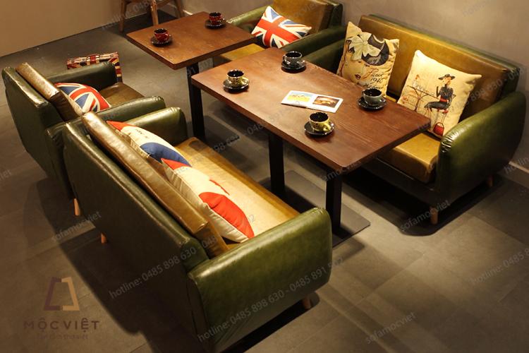 Sofa cafe da giá rẻ MVSCF-006