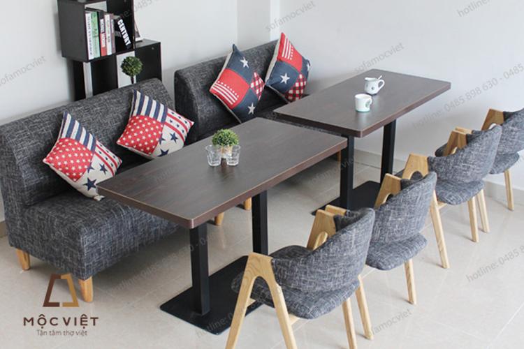 Sofa cafe nỉ giá rẻ MVSCF-009